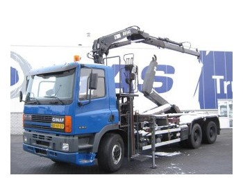 Ginaf M 3132-S mit HIAB 140-2 - container transporter/ swap body truck