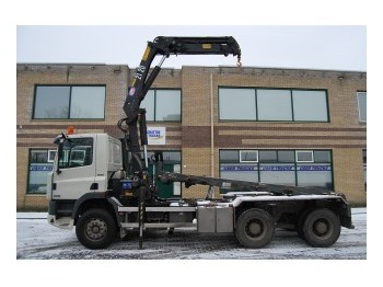 Ginaf M 3232-S 6X4 21 T/M CRANE - container transporter/ swap body truck