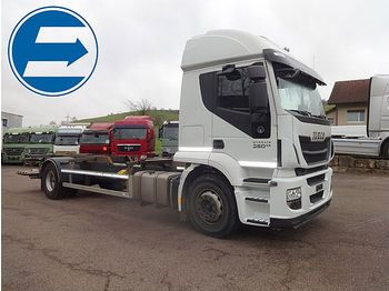 Iveco 190S36 STRALIS CONTAINERTRANSPORT, LBW - container transporter/ swap body truck