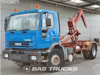 Container transporter/ swap body truck Iveco EUROTECH 190E27 4X2 Manual SteelSuspension Euro 2: picture 1