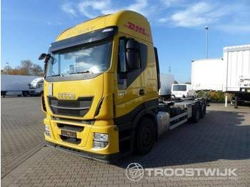 Iveco Iveco Stralis AS 260 S 46 Stralis AS 260 S 46 - container transporter/ swap body truck