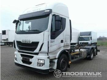 Container transporter/ swap body truck Iveco Iveco Stralis AS 260 S 48 Stralis AS 260 S 48
