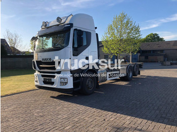 Container transporter/ swap body truck Iveco STRALIS 480.26