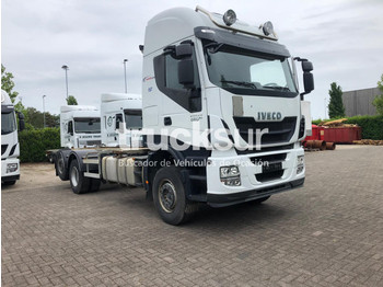 Container transporter/ swap body truck Iveco STRALIS AS480.26