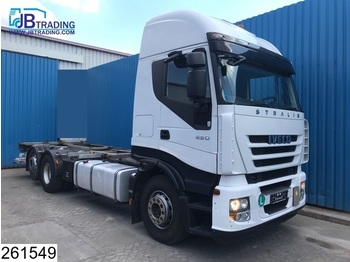 Iveco Stralis 450 AS, 6x2, EURO 5 EEV, BDF System, Airco - container transporter/ swap body truck