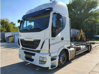 Container transporter/ swap body truck Iveco Stralis AS190S42