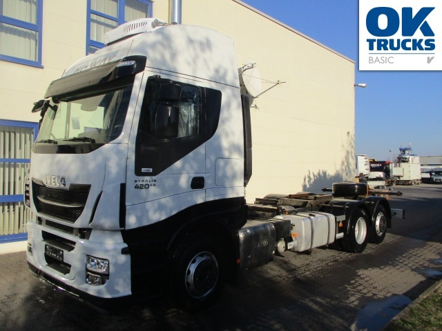 Iveco Stralis As260s42y Fpcm Container Transporter Swap
