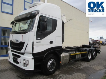 Iveco Stralis AS260S48Y/FPCM - container transporter/ swap body truck