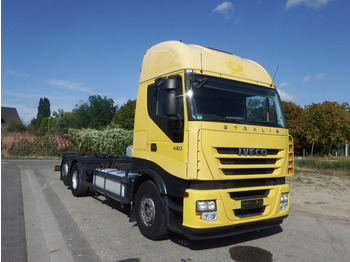 Iveco Stralis AS 260 S 42 - ZF-Intarder - KLIMA - AHK - container transporter/ swap body truck