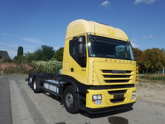 Container Transporter Swap Body Truck Iveco Stralis As 260 S 42 Zf Intarder Klima Ahk Truck1 Id 3997603