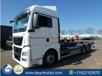 Container transporter/ swap body truck MAN 26.440 TGX xlx e6 intarder