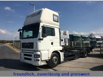 MAN TGA 18.310 * EURO 4-PMK2 * 2X LIEGE * 3-SITZER*  - container transporter/ swap body truck