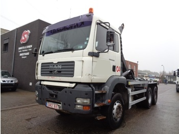 Container transporter/ swap body truck MAN TGA 26.410 manual
