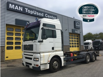 Container transporter/ swap body truck MAN TGA 26.440 6X2-2 LL