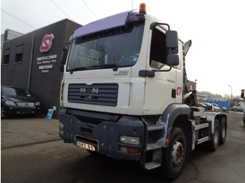 Container transporter/ swap body truck MAN TGA 33.430