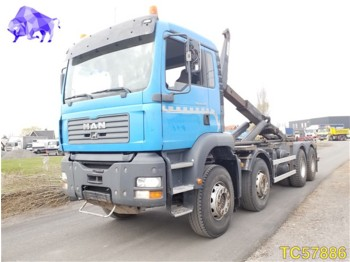 Container transporter/ swap body truck MAN TGA 410 Euro 3