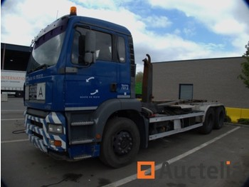 Container transporter/ swap body truck MAN TGA H28FNLC