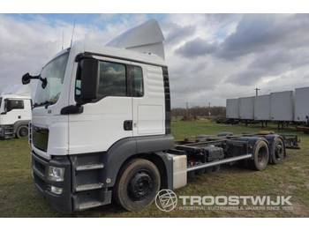 MAN TGS 24.360 6x2 - container transporter/ swap body truck