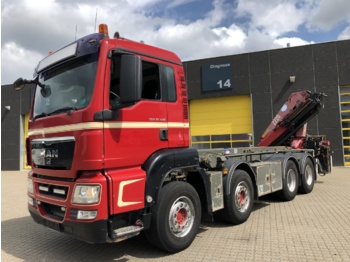 Container transporter/ swap body truck MAN TGS 35.480 8x4
