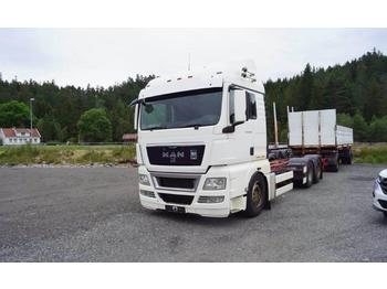 MAN TGX  - container transporter/ swap body truck