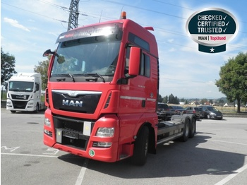 MAN TGX 26.440 6X2-2 LL - EURO 6 - container transporter/ swap body truck
