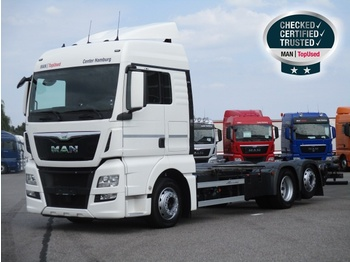 MAN TGX 26.440 6X2-2 LL, Euro 6, XLX, Intarde, AHK - container transporter/ swap body truck
