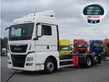 MAN TGX 26.440 6X2-2 LL, Euro 6, XLX, Intarder - container transporter/ swap body truck
