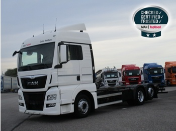 MAN TGX 26.440 6X2-2 LL, Euro 6, XLX, Intarder, AHK - container transporter/ swap body truck