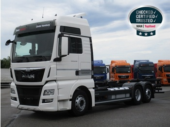 Container transporter/ swap body truck MAN TGX 26.440 6X2-2 LL (XXL,Intarder)