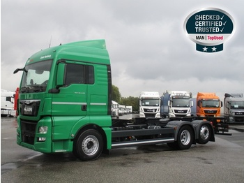 Container transporter/ swap body truck MAN TGX 26.440 6X2-4 LL
