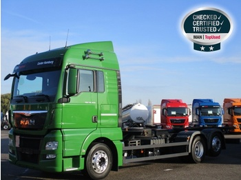MAN TGX 26.440 6X2-4 LL, Euro 6, XLX, Intarder, Funk - container transporter/ swap body truck