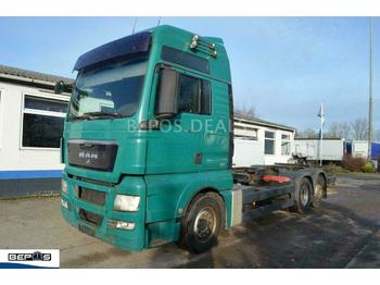 Container transporter/ swap body truck MAN TGX 26.440 6x2 - 2 LL