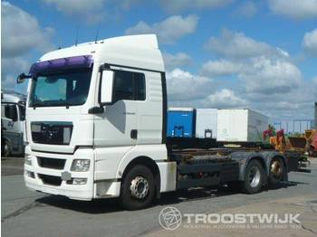 MAN TGX 26.440 6x2-2 LL - container transporter/ swap body truck