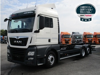 Container transporter/ swap body truck MAN TGX 26.460 6X2-2 LL