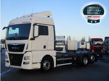 MAN TGX 26.480 6X2-2 LL - container transporter/ swap body truck