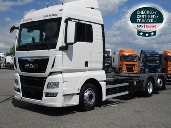 Container transporter/ swap body truck MAN TGX 26.480 6X2-2 LL