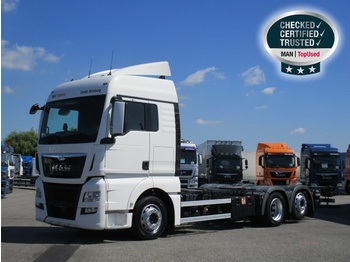 MAN TGX 26.480 6X2-2 LL, Euro 6, XLX, Intarder, AHK - container transporter/ swap body truck