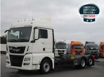 Container transporter/ swap body truck MAN TGX 26.480 6X2-4 LL