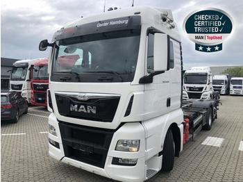 Container transporter/ swap body truck MAN TGX 26.480 6X2 4 LL