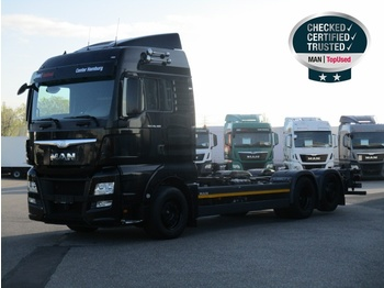 MAN TGX 26.480 6X2-4 LL, Euro 6, XLX,Intar.,Klima,Funk - container transporter/ swap body truck