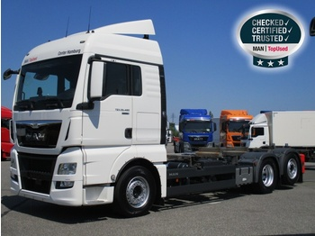 MAN TGX 26.480 6X2-4 LL, Euro 6,XLX,Intarder,Tiefkplg. - container transporter/ swap body truck