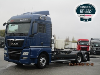MAN TGX 26.500 6X2-4 LL / BDF 7,82 m - container transporter/ swap body truck