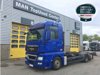 "Container transporter/ swap body truck MAN TGX 26.540 6X2-2 LL ""Intarder / Xenon"""