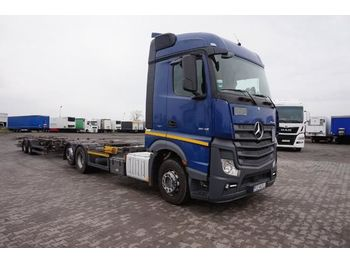 Container transporter/ swap body truck MERCEDES-BENZ ACTROS 2545