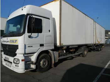 MERCEDES BENZ actros - container transporter/ swap body truck