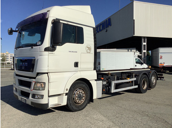 Container transporter/ swap body truck M.A.N. TGX 26.440