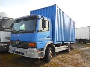 Container transporter/ swap body truck Mercedes Atego 1528
