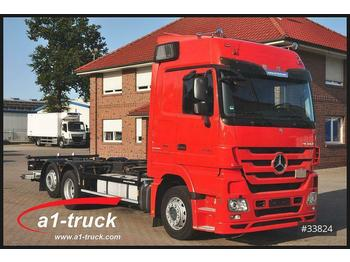 Mercedes-Benz 2541 MP3, Kilometer 357.336, LBW, TÜV 09/2021  - container transporter/ swap body truck