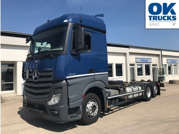 Mercedes-Benz 2545 6x2 L Bluetec 6 - container transporter/ swap body truck
