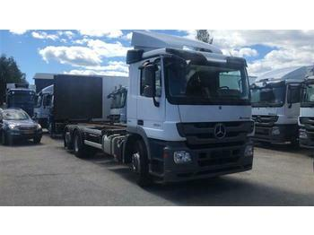 Mercedes-Benz ACTROS 2532 - SOON EXPECTED -  6X2 BDF EURO 5  - container transporter/ swap body truck